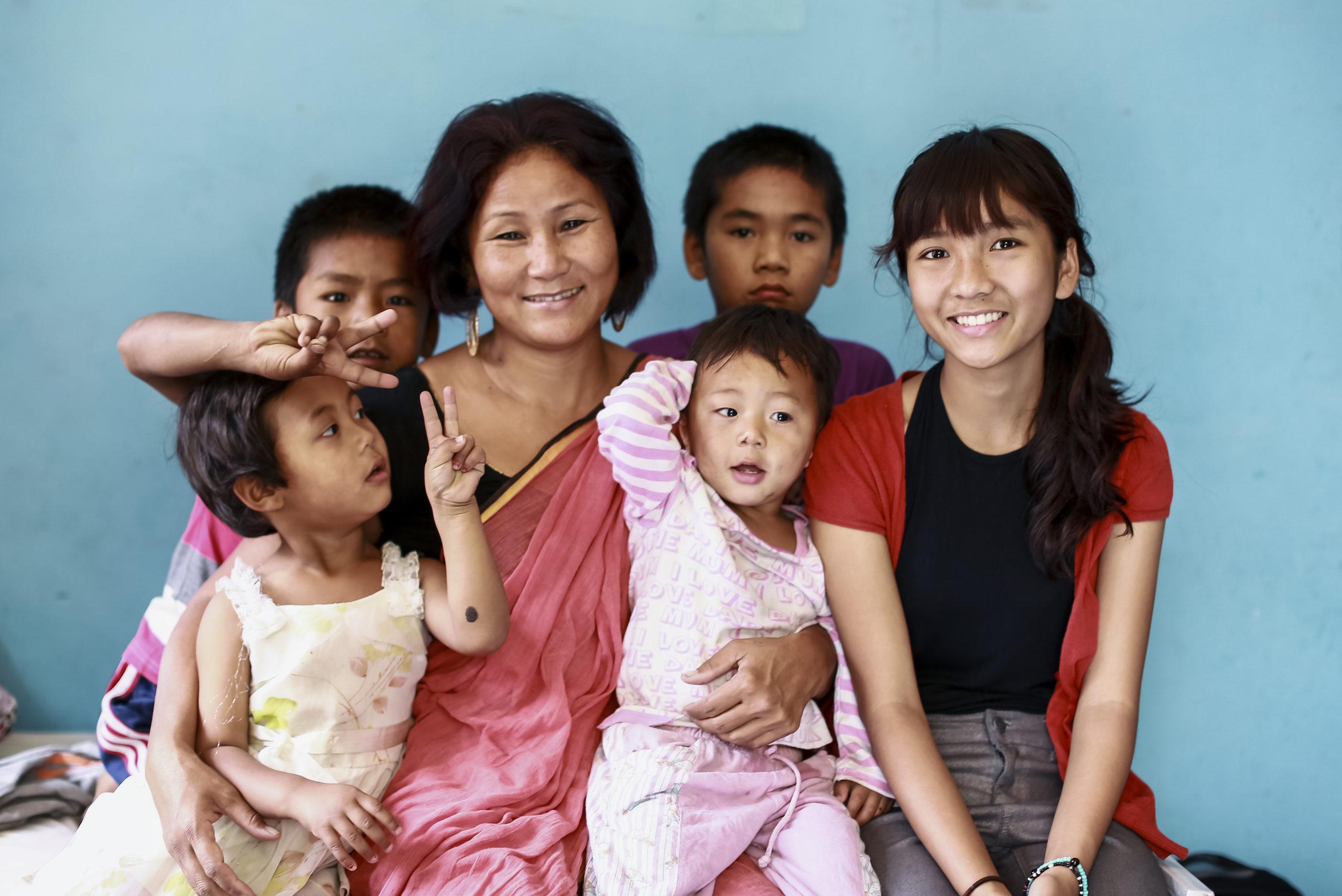 indira-ranamagar-with-children.jpg